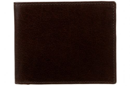 Tinnakeenly Leathers Gents Wallet Dark Brown